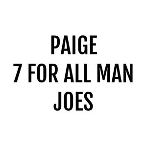 Paige, Joes Jeans, 7 for all man denim jeans size